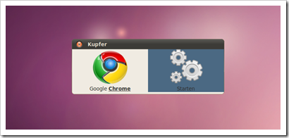 Kupfer_launcher_Chrome
