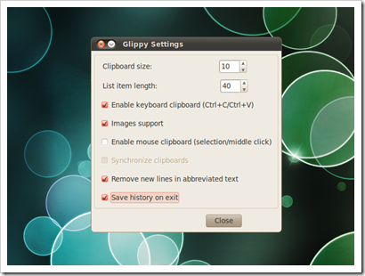 Glippy_Gnome_Clipboard_Manager