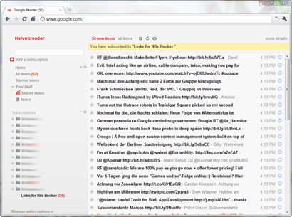 SiftLinks_Googlereader